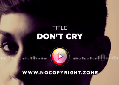 A Himitsu – Don't Cry ✅ #NoCopyrightZone /// 💲FREE TO MONETIZE!