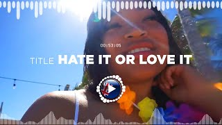 NEFFEX – Hate It or Love It ✅ No Copyright Zone (Unofficial video)