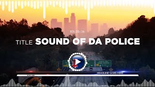 Phibes – Sound Of Da Police ✅ No Copyright Zone (Original Video)