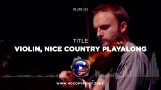 Little Joe – Violin, nice Country playalong ✅ #NoCopyrightZone 💲FREE TO MONETIZE!