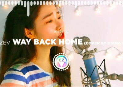 🎵 SHAUN – Way Back Home cover by Diana Kim ✅ #NoCopyrightZone /// 💲FREE TO MONETIZE!
