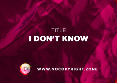 🎵 Scandinavianz x Joe Hurworth – I Don't Know ✅ #NoCopyrightZone /// 💲FREE TO MONETIZE!