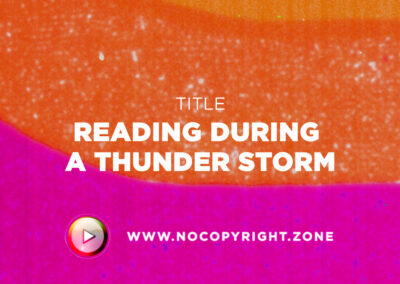 🎵 Purrple Cat – Reading During A Thunder Storm ✅ #NoCopyrightZone /// 💲FREE TO MONETIZE!